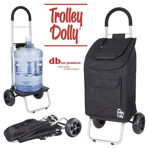 dbest-Trolley-Dolly-Large-Shopping-Grocery-Foldable-Cart