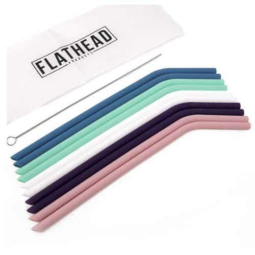 flathead-reusable-silicone-straws-extra-long