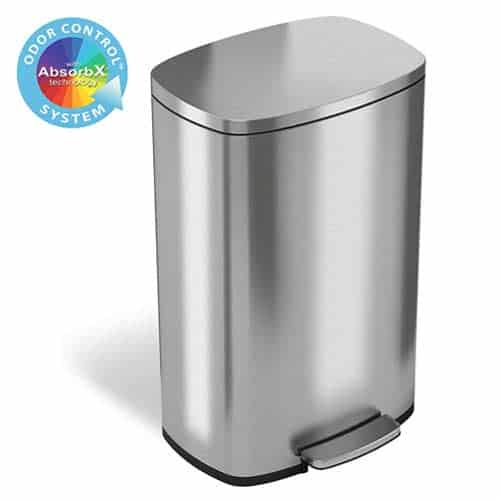 iTouchless-SoftStep-AbsorbX-13-gallon-trash-can-step-pedal