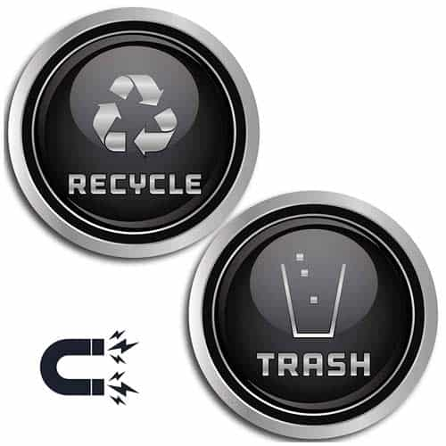 magnetic-vinyl-decal-Recycle-and-Trash-Logo-Symbol