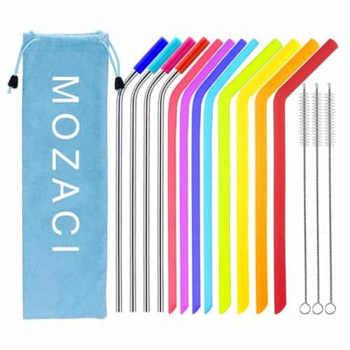 mozaci-reusable-straws-bundle-silicone-stainless-steel