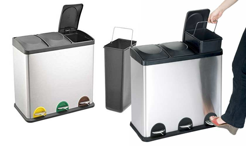 recycling-bin-with-three-compartments-for-sorting-waste-recyclables