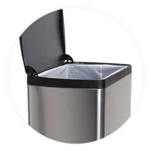 Single-compartment-trash-can