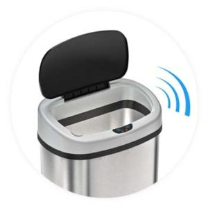 Touchless-senor-trash-can