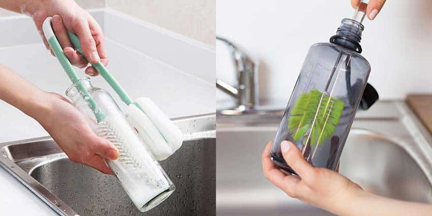 how-to-clean-water-bottle-with-bottle-cleaning-brush