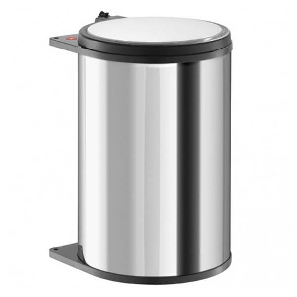 Hailo-Big-Box-20-Liter-RVS-inbouw-prullenbak
