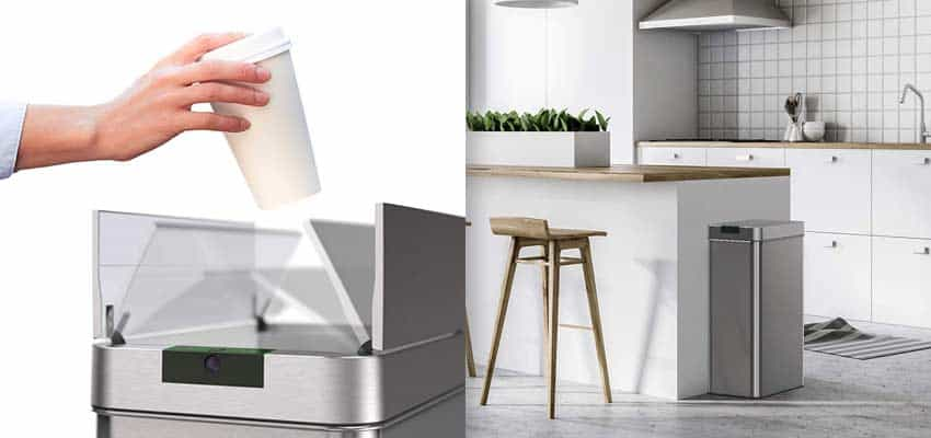 motion-sensor-trash-can-in-kitchen