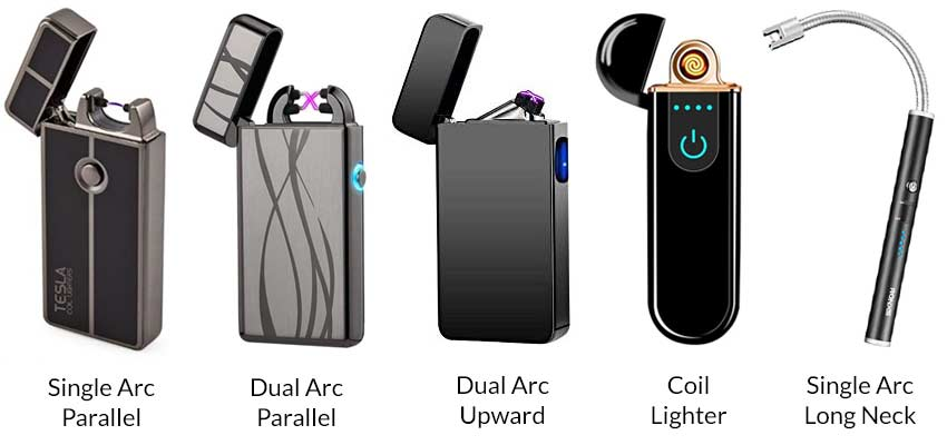 types-of-electric-and-plasma-lighters