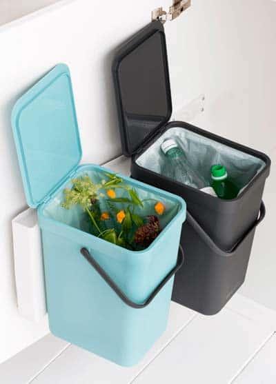 Einbau-Dual-Mülleimer-Küchenschrank