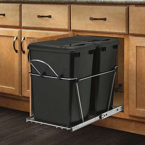 Rev-A-Shelf-RV-18KD-18C-S-Double-Pull-Out-Bin