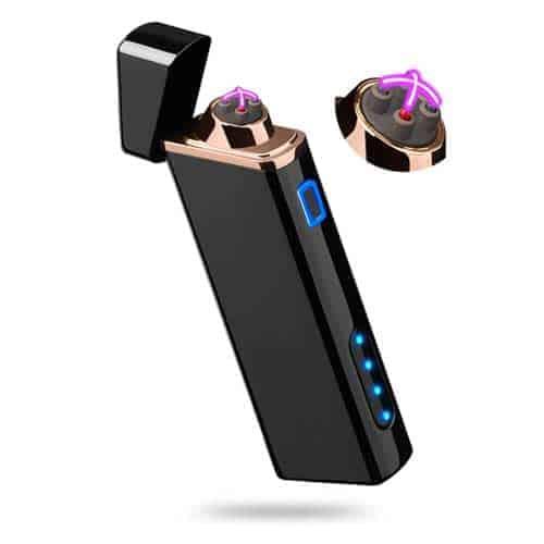 Sleek-Electric-Dual-Arc-Lighter