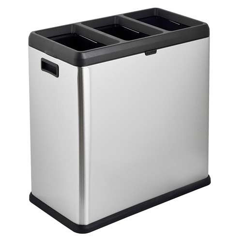 Step-N-Sort-3-Compartment-Open-Top-Trash-Recycling-Bin