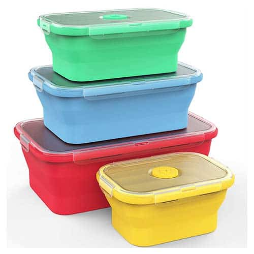 Vremi-Collapsable-Food-Containers-(4-Box-Set)