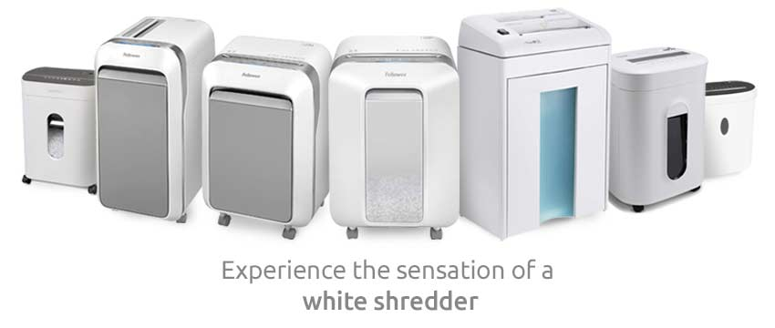 selection-of-white-paper-shredder-machines