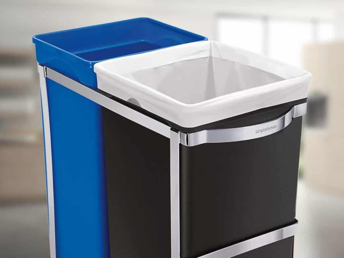 Ausziehbarer Mülleimer für Küchenschrank & Unter Spüle  Recycling.com