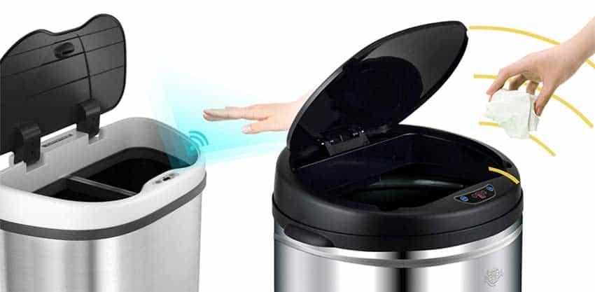 Abfalleimer-mit Sensor