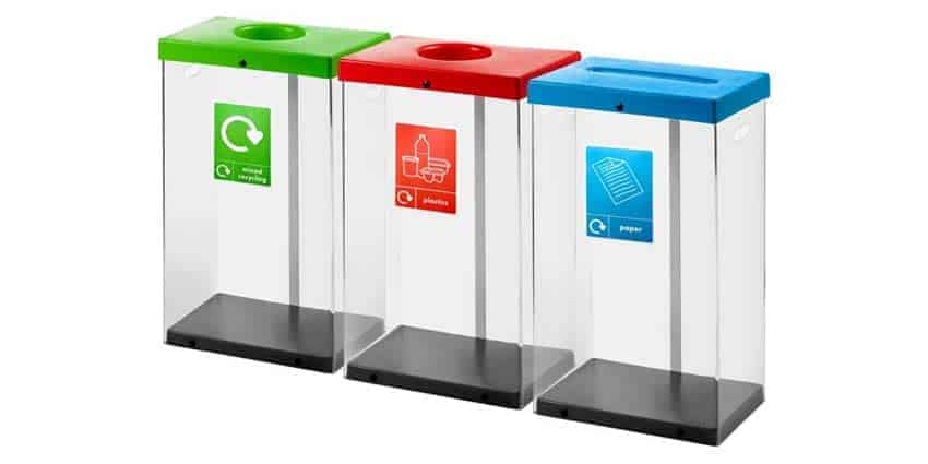 Clear-Recycling-Bins-Station