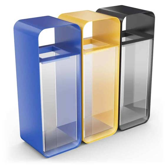 HANKO-Smart-Recycling-Bin-Station-3-Transparent-Compartments