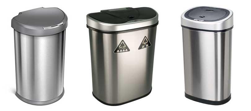 automatische-Mülleimer-Bewegungssensor-Infrarot