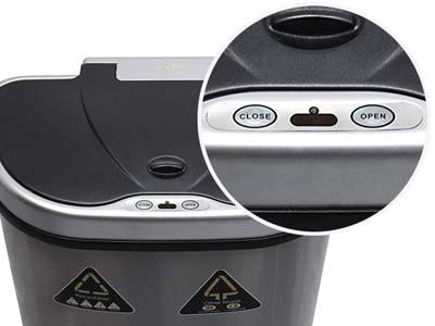 berührungslose-Mülleimer-Handbedienungstasten