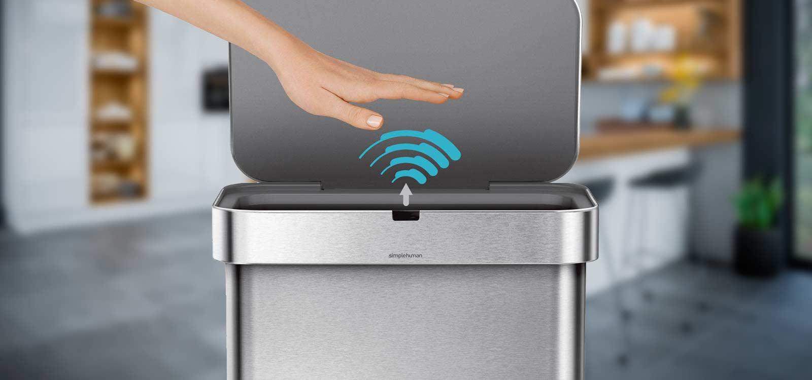 berührungsloser-Mülleimer-Automatik-mit-Sensor