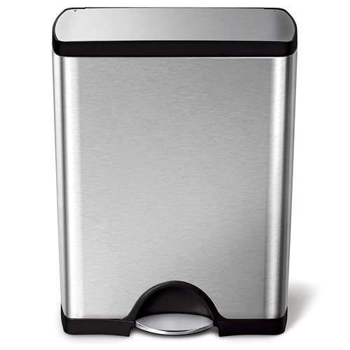 simplehuman-Rectangualr-Step-Can-13-gallon