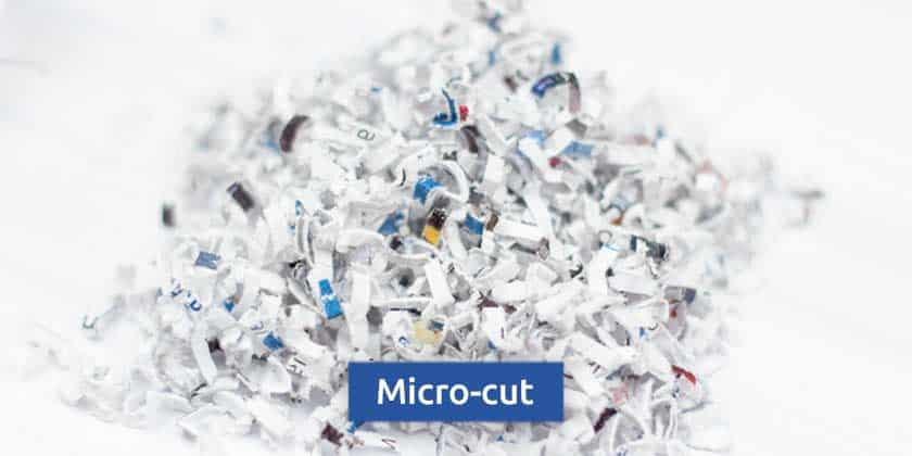 Micro-cut-shredder-particles