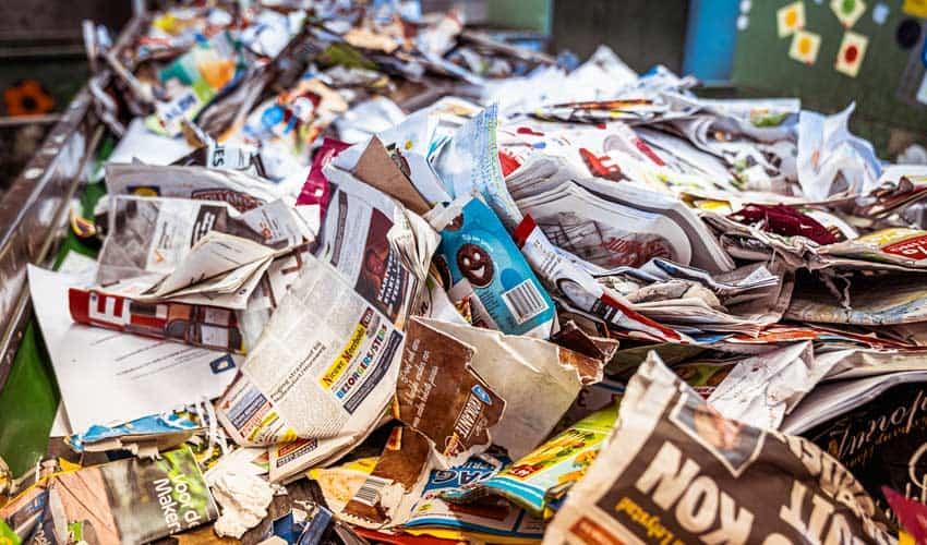 Altpapier-das-recycelt-werden-kann
