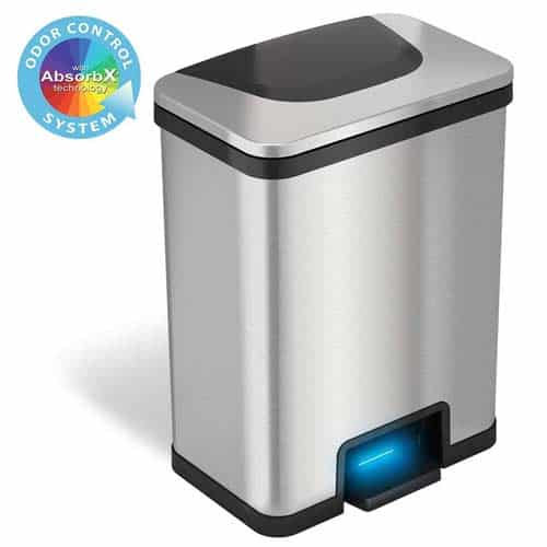 iTouchless-AutoStep-Automatic-Step-Sensor-Trash-Can