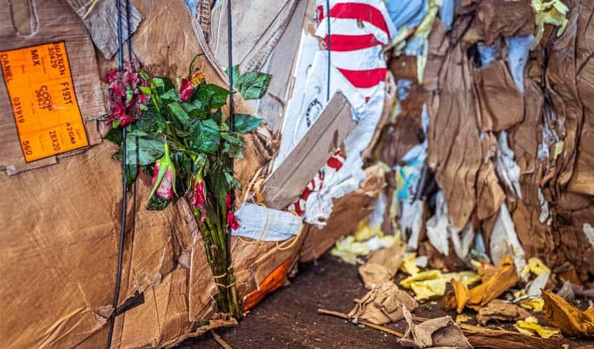 recycling-baal-karton-vervuiling