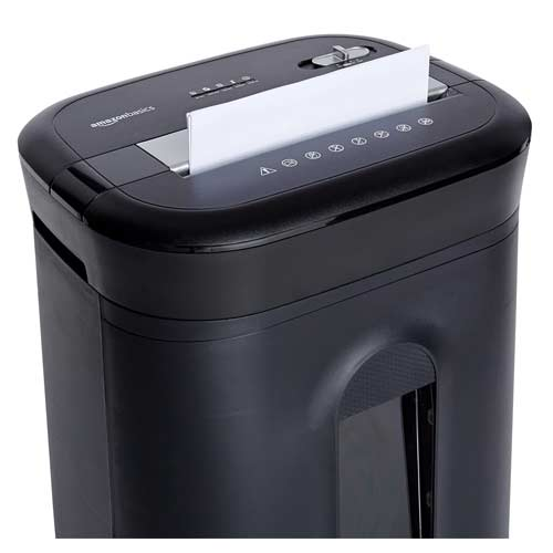 AmazonBasics-15-Sheet-Shredder-confidential-documents