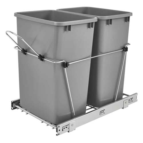Pull Out Trash Cans For Under A Kitchen, Kitchen Cabinet Trash Can Inserts