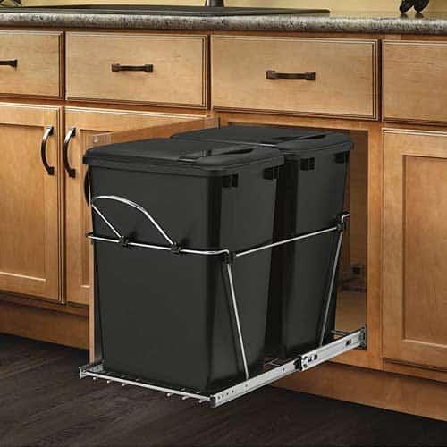 Rev-A-Shelf-RV-18KD-17C-kitchen-cabinet-black-pull-outl