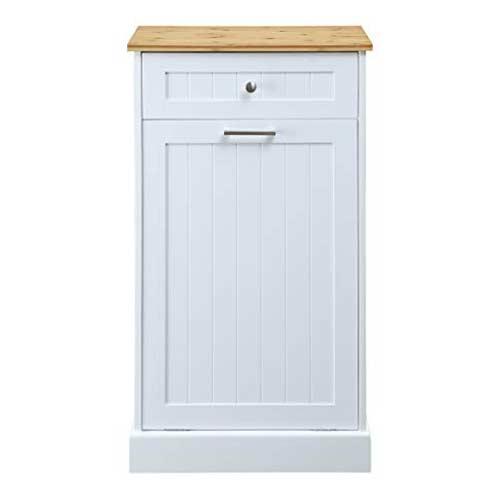 Seven-Oaks-Tilt-Out-Trash-Cabinet-with-Drawer-White