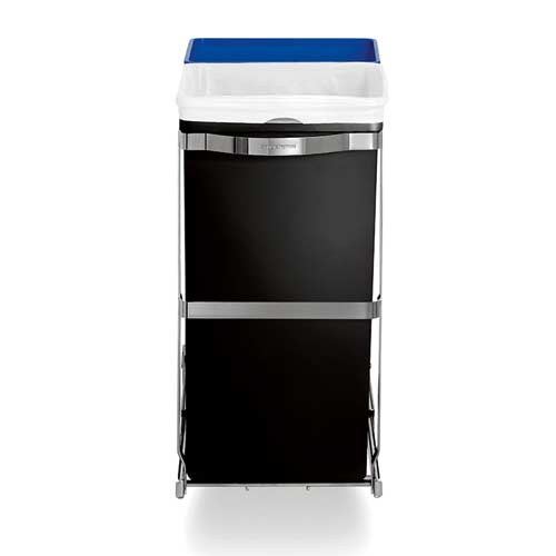 Simplehuman-Under-Counter-Pull-Out-Recycling-Bin-and-Trash-Can