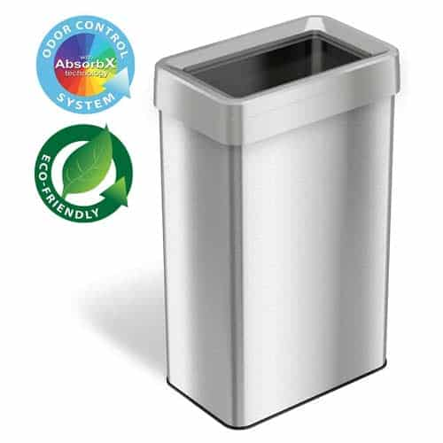 iTouchless-21-Gallon-Dual-Deodorizer-Open-Top-Trash-Can
