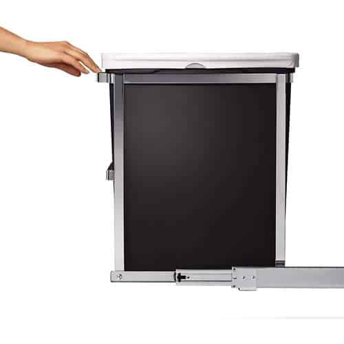simplehuman-30-Liter-8-Gallon-Under-Counter-Kitchen-Pull-Out-Trash-Can