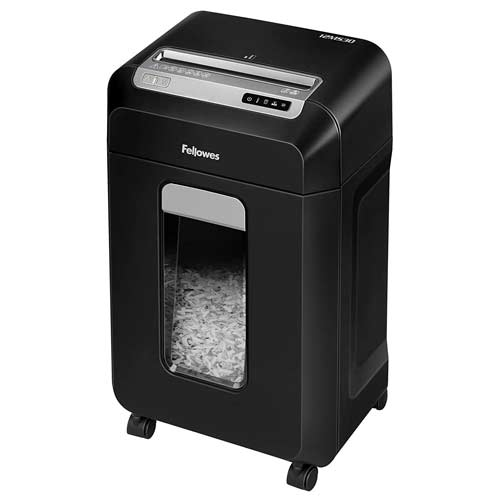 Fellowes-12MS30-Powershred-Small-Micro-Cut-Deskside-Paper-Shredder-on-Wheels