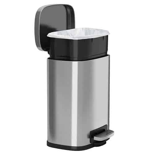 iTouchless-SoftStep-bathroom-trash-can-open-lid