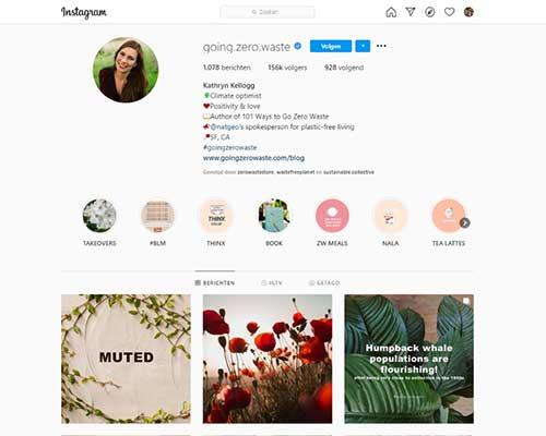 instagram-going-zero-waste