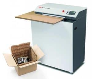 karton-shredder-verzenddoos-kartonnen-matjes-verpakkingsmateriaal