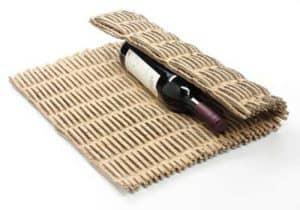 kartonnen-matje-verpakkingsmateriaal-wijnfles