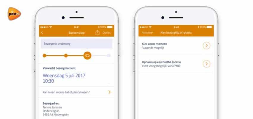 postnl-app-bezorger-onderweg-pakket-verwacht-bezorgmoment