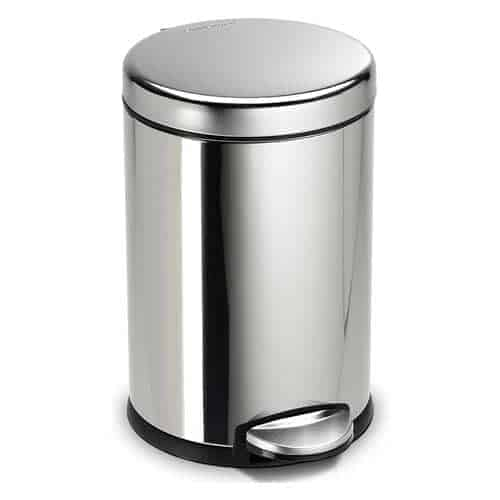 simplehuman-Polished-Stainless-Steel-small-trash-can