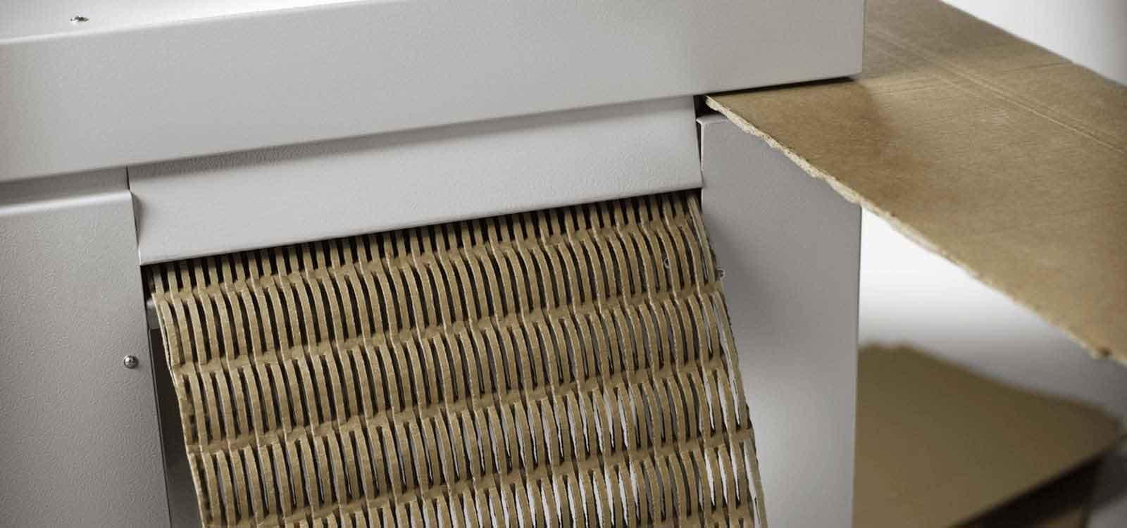Kartonschredder-Header