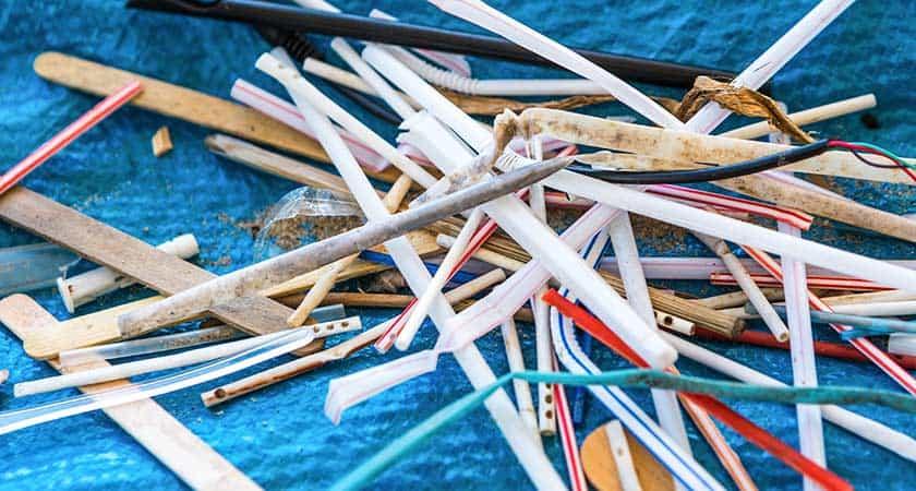rietjes-afval-in-zee