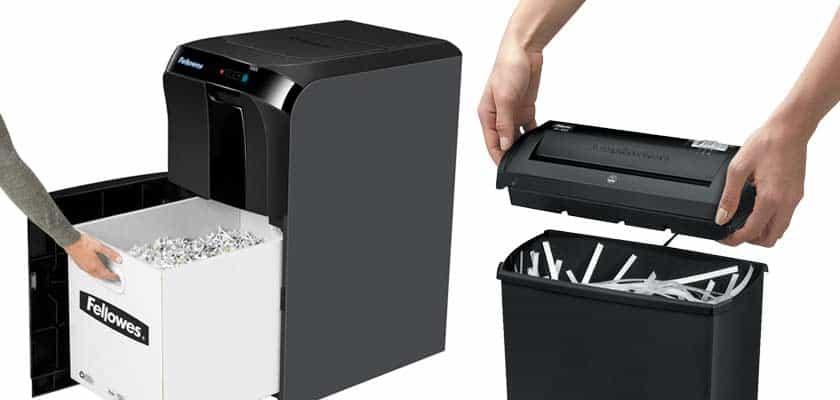 kleine-oder-große-Papierzerkleinerungskapazität