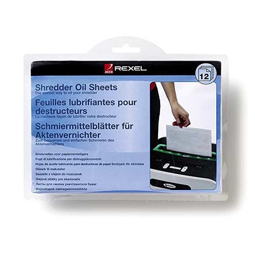 12-pack-Rexel-Shredder-Oil-Sheets-Pack