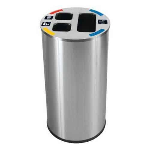 Probbax-Mülltrennbehälter-3-fach-60Liter
