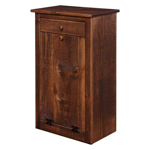 DutchCrafters-Amish-Farmhouse-Wood-Pull-Out-Trash-Can-Cabinet
